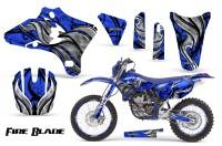 Yamaha-YZ250-YZ450-03-05-WR250-WR450-05-06-CreatorX-Graphics-Kit-Fire-Blade-Black-Blue-BLB-NP-Rims