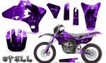 Yamaha YZ250 YZ450 03 05 WR250 WR450 05 06 CreatorX Graphics Kit Spell Purple NP Rims 150x90 - Suzuki Dirt Bike Graphics