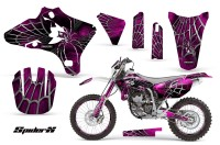 Yamaha-YZ250-YZ450-03-05-WR250-WR450-05-06-CreatorX-Graphics-Kit-SpiderX-Pink-WB-NP-Rims