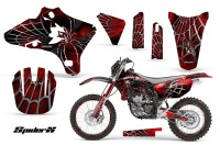 Yamaha-YZ250-YZ450-03-05-WR250-WR450-05-06-CreatorX-Graphics-Kit-SpiderX-Red-BB-NP-Rims