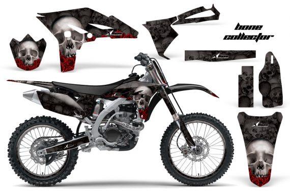 Yamaha YZ250F 2010 AMR Graphics Kit BONE COLLECTOR BLACK NP 570x376 - Yamaha YZ250F 4 Stroke 2010-2013 Graphics