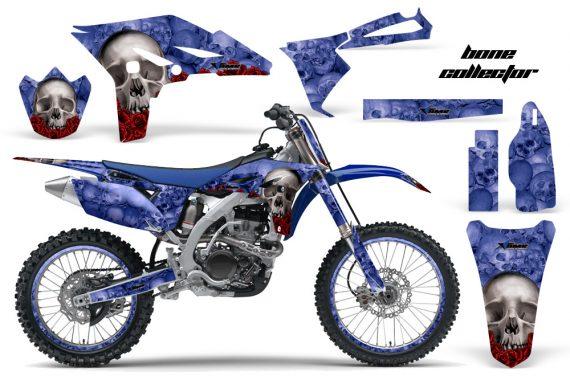 Yamaha YZ250F 2010 AMR Graphics Kit BONE COLLECTOR BLUE NP 570x376 - Yamaha YZ250F 4 Stroke 2010-2013 Graphics