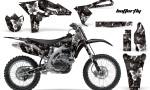 Yamaha YZ250F 2010 AMR Graphics Kit BUTTERFLY WHITE BLACKBG NP 150x90 - Yamaha YZ250F 4 Stroke 2010-2013 Graphics