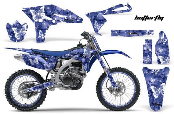 Yamaha YZ250F 2010 AMR Graphics Kit BUTTERFLY WHITE BLUEBG NP 570x376 - Yamaha YZ250F 4 Stroke 2010-2013 Graphics