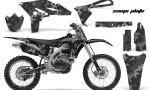 Yamaha YZ250F 2010 AMR Graphics Kit CAMO PALTE BLACK NP 150x90 - Yamaha YZ250F 4 Stroke 2010-2013 Graphics