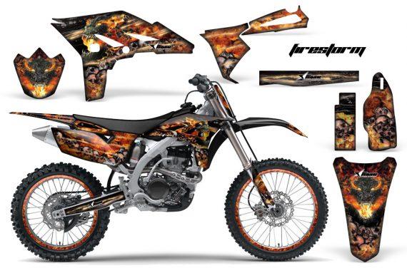 Yamaha YZ250F 2010 AMR Graphics Kit FIRESTORM BLACK NP 570x376 - Yamaha YZ250F 4 Stroke 2010-2013 Graphics