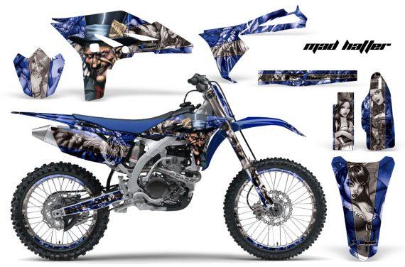 Yamaha YZ250F 2010 AMR Graphics Kit MAD HATTEER BLUE SILVERSTRIPE NP 570x376 - Yamaha YZ250F 4 Stroke 2010-2013 Graphics