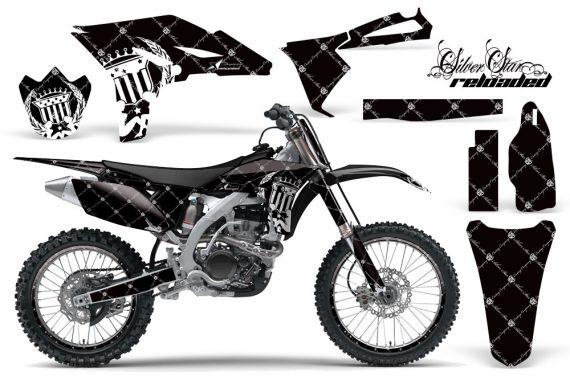 Yamaha YZ250F 2010 AMR Graphics Kit RELOADED WHITE BLACKBG NP 570x376 - Yamaha YZ250F 4 Stroke 2010-2013 Graphics