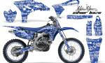Yamaha YZ250F 2010 AMR Graphics Kit SILVERHAZE BLUE NP 150x90 - Yamaha YZ250F 4 Stroke 2010-2013 Graphics