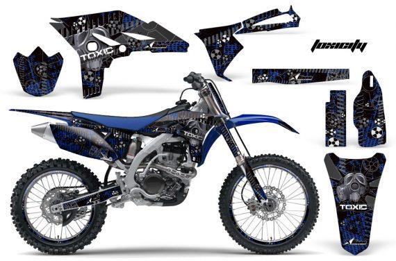 Yamaha YZ250F 2010 AMR Graphics Kit TOXICITY BLACK BLUEBG NP 570x376 - Yamaha YZ250F 4 Stroke 2010-2013 Graphics