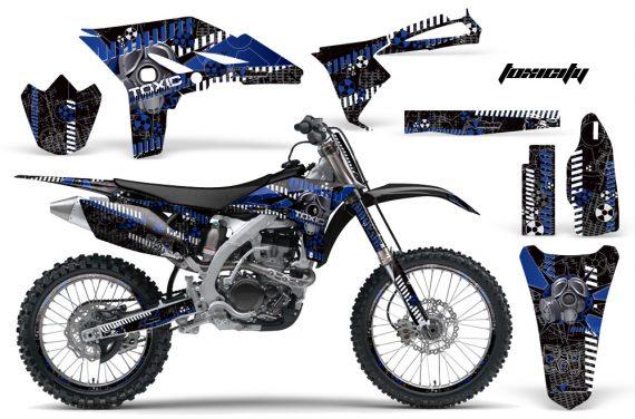 Yamaha YZ250F 2010 AMR Graphics Kit TOXICITY BLUE BLACKBG NP 570x376 - Yamaha YZ250F 4 Stroke 2010-2013 Graphics