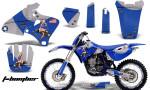 Yamaha YZ426F AMR Graphics Kit T bomber Blu 150x90 - Yamaha YZ250F/YZ400F/YZ426F 4 Stroke 1998-2002 Graphics