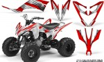 Yamaha Raptor 250 Graphics Kit Chromium Red WB 150x90 - Yamaha Raptor 250 Graphics