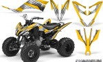 Yamaha Raptor 250 Graphics Kit Chromium Yellow BB 150x90 - Yamaha Raptor 250 Graphics