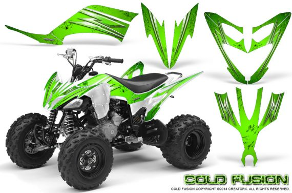 Yamaha Raptor 250 Graphics Kit Cold Fusion Green 570x376 - Yamaha Raptor 250 Graphics