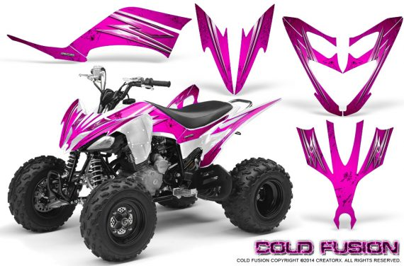 Yamaha Raptor 250 Graphics Kit Cold Fusion Pink 570x376 - Yamaha Raptor 250 Graphics