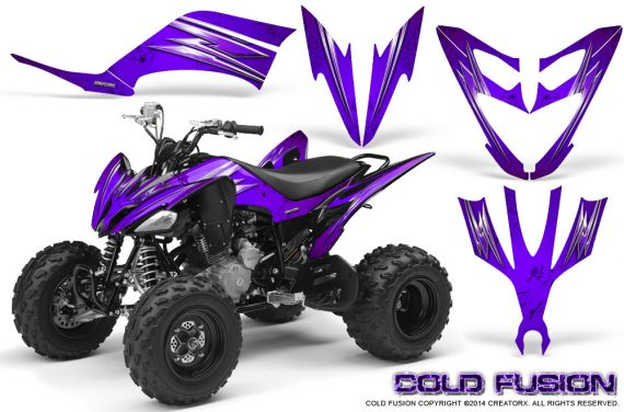 Yamaha Raptor 250 Graphics Kit Cold Fusion Purple 570x376 - Yamaha Raptor 250 Graphics