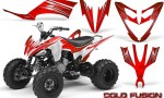 Yamaha Raptor 250 Graphics Kit Cold Fusion Red WB 150x90 - Yamaha Raptor 250 Graphics