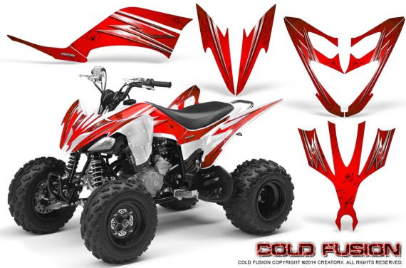 Yamaha Raptor 250 Graphics Kit Cold Fusion Red WB 570x376 - Yamaha Raptor 250 Graphics