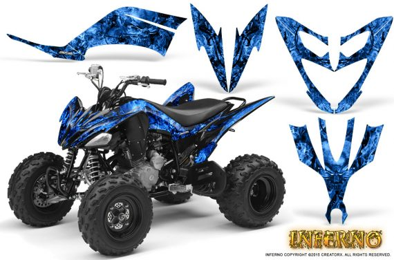 Yamaha Raptor 250 Graphics Kit Inferno Blue 570x376 - Yamaha Raptor 250 Graphics