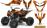 Yamaha Raptor 250 Graphics Kit Inferno Orange 150x90 - Yamaha Raptor 250 Graphics