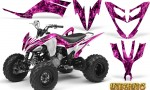 Yamaha Raptor 250 Graphics Kit Inferno Pink 150x90 - Yamaha Raptor 250 Graphics
