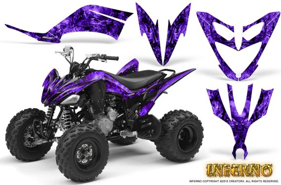 Yamaha Raptor 250 Graphics Kit Inferno Purple 570x376 - Yamaha Raptor 250 Graphics
