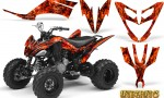 Yamaha Raptor 250 Graphics Kit Inferno Red BB 150x90 - Yamaha Raptor 250 Graphics