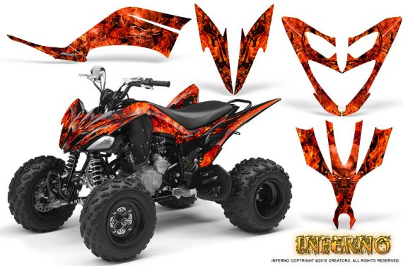 Yamaha Raptor 250 Graphics Kit Inferno Red BB 570x376 - Yamaha Raptor 250 Graphics