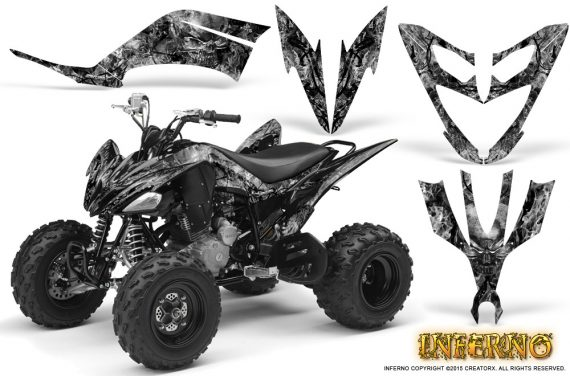 Yamaha Raptor 250 Graphics Kit Inferno Silver 570x376 - Yamaha Raptor 250 Graphics