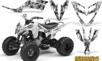 Yamaha Raptor 250 Graphics Kit Inferno White 150x90 - Yamaha Raptor 250 Graphics