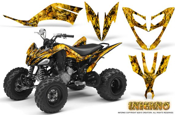 Yamaha Raptor 250 Graphics Kit Inferno Yellow 570x376 - Yamaha Raptor 250 Graphics