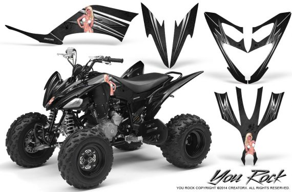 Yamaha Raptor 250 Graphics Kit You Rock Black 570x376 - Yamaha Raptor 250 Graphics