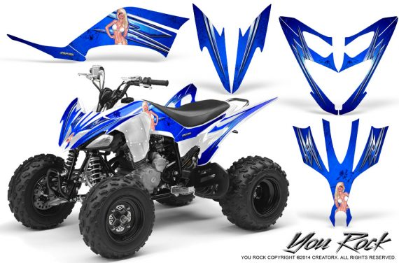 Yamaha Raptor 250 Graphics Kit You Rock Blue WB 570x376 - Yamaha Raptor 250 Graphics