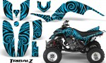 Yamaha Raptor 660 CreatorX Graphics Kit TribalZ BlueIce 150x90 - Yamaha Raptor 660 Graphics