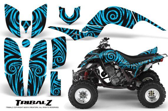 Yamaha Raptor 660 CreatorX Graphics Kit TribalZ BlueIce 570x376 - Yamaha Raptor 660 Graphics