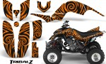Yamaha Raptor 660 CreatorX Graphics Kit TribalZ Orange 150x90 - Yamaha Raptor 660 Graphics