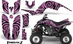 Yamaha Raptor 660 CreatorX Graphics Kit TribalZ PinkLite 150x90 - Yamaha Raptor 660 Graphics