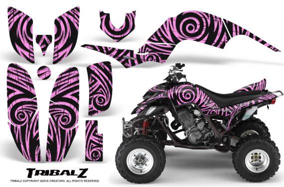 Yamaha Raptor 660 CreatorX Graphics Kit TribalZ PinkLite 570x376 - Yamaha Raptor 660 Graphics
