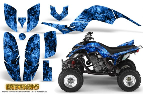 Yamaha Raptor 660 Graphics Kit Inferno Blue 570x376 - Yamaha Raptor 660 Graphics