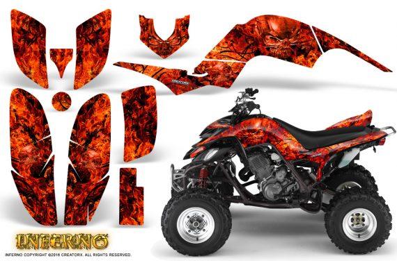 Yamaha Raptor 660 Graphics Kit Inferno Red 570x376 - Yamaha Raptor 660 Graphics