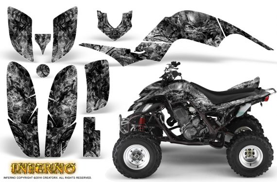Yamaha Raptor 660 Graphics Kit Inferno Silver 570x376 - Yamaha Raptor 660 Graphics