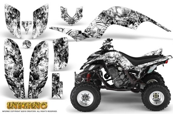 Yamaha Raptor 660 Graphics Kit Inferno White 570x376 - Yamaha Raptor 660 Graphics