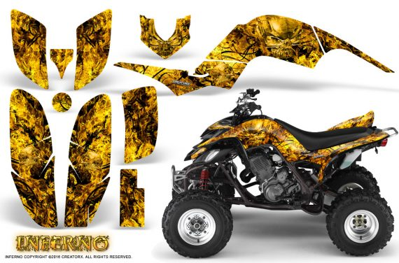 Yamaha Raptor 660 Graphics Kit Inferno Yellow 570x376 - Yamaha Raptor 660 Graphics