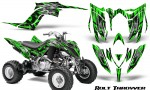 Yamaha Raptor YFM700R 2013 CreatorX Graphics Kit Bolt Thrower Green 150x90 - Yamaha Raptor 700 2013-2018 Graphics
