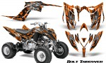 Yamaha Raptor YFM700R 2013 CreatorX Graphics Kit Bolt Thrower Orange 150x90 - Yamaha Raptor 700 2013-2018 Graphics