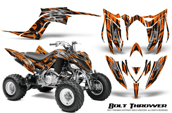 Yamaha Raptor YFM700R 2013 CreatorX Graphics Kit Bolt Thrower Orange 570x376 - Yamaha Raptor 700 2013-2018 Graphics