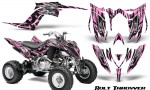 Yamaha Raptor YFM700R 2013 CreatorX Graphics Kit Bolt Thrower Pink Lite 150x90 - Yamaha Raptor 700 2013-2018 Graphics