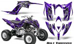 Yamaha Raptor YFM700R 2013 CreatorX Graphics Kit Bolt Thrower Purple 150x90 - Yamaha Raptor 700 2013-2018 Graphics