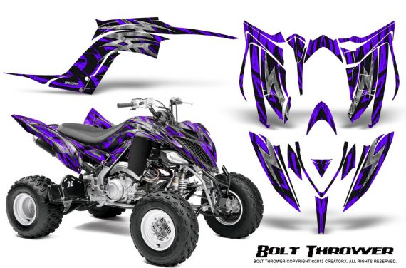 Yamaha Raptor YFM700R 2013 CreatorX Graphics Kit Bolt Thrower Purple 570x376 - Yamaha Raptor 700 2013-2018 Graphics